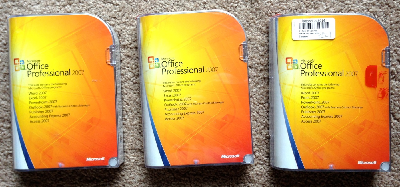 ms office profesional 2007